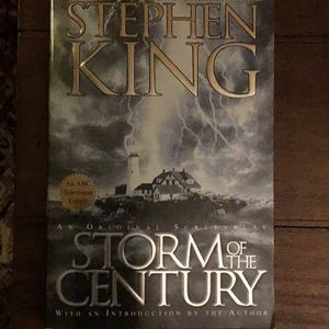 Storm of the Century by Stephen King paperback